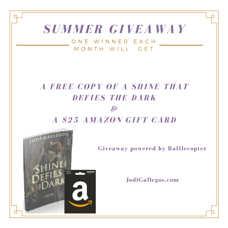 June #Giveaway: Free Book & $25 Amazon Gift Card – Jodi